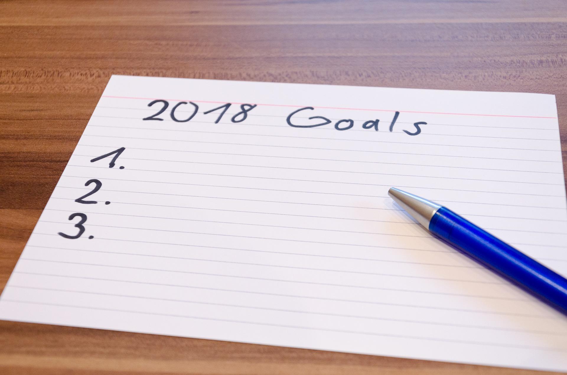 Gedanken zum Blog und meine Ziele 2018